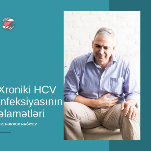 Xroniki HCV infeksiyasının əlamətləri